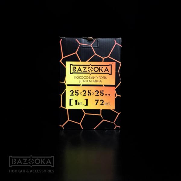 Уголь Bazooka 25мм