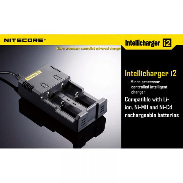 Зарядное Устройство Nitecore i2 (без LCD)